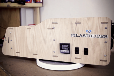 3D Printing Kit Filastruder Raises Nearly $200,000 through Kickstarter Campaign