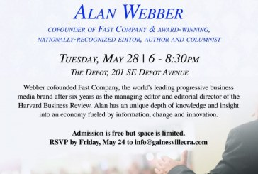 Co-Founder of Fast Company to Offer Insight on Innovation Economy