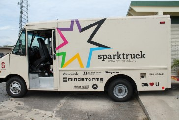 Cade Museum Brings the SparkTruck to Gainesville