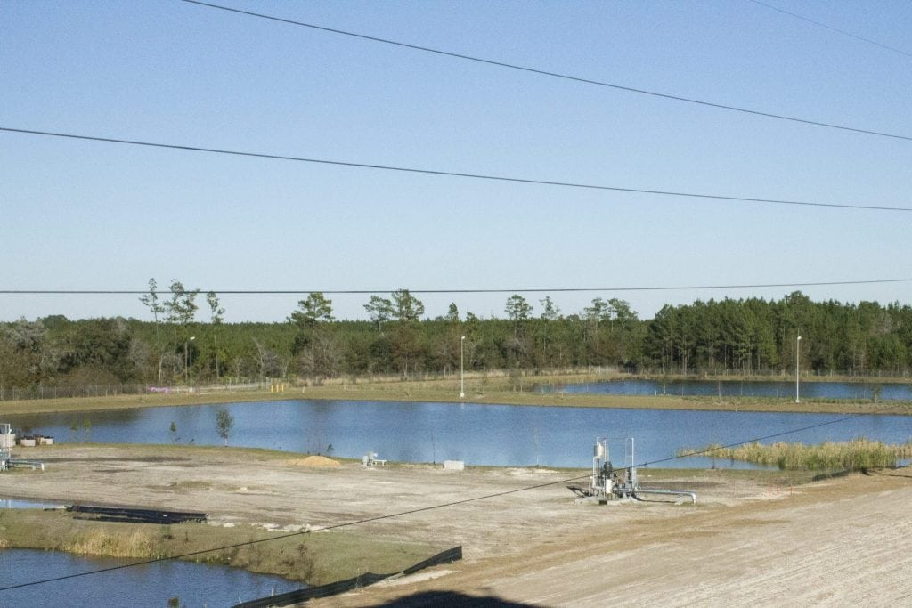Drainage Ponds