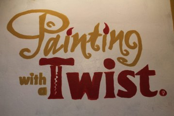 Painting with a twist celebrates ribbon cutting