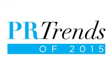 PR Trends of 2015