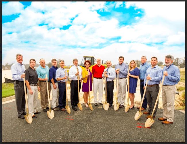 Oakmont builders celebrate groundbreaking of $6 million Resident Club