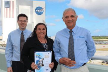 Jones Edmunds Receives NASA's Space Flight Awareness Team Award