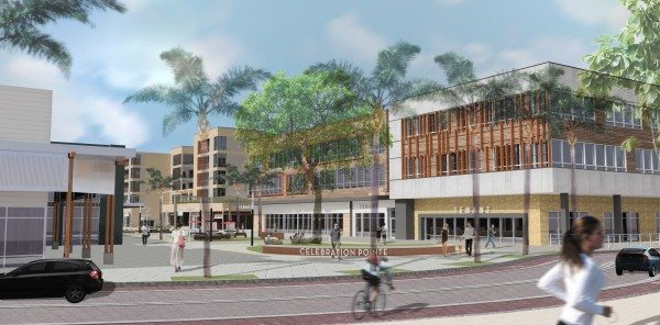 Celebration Pointe strives for urban ambiance in mixed-used development