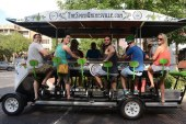 Local business makes a party out of pedaling