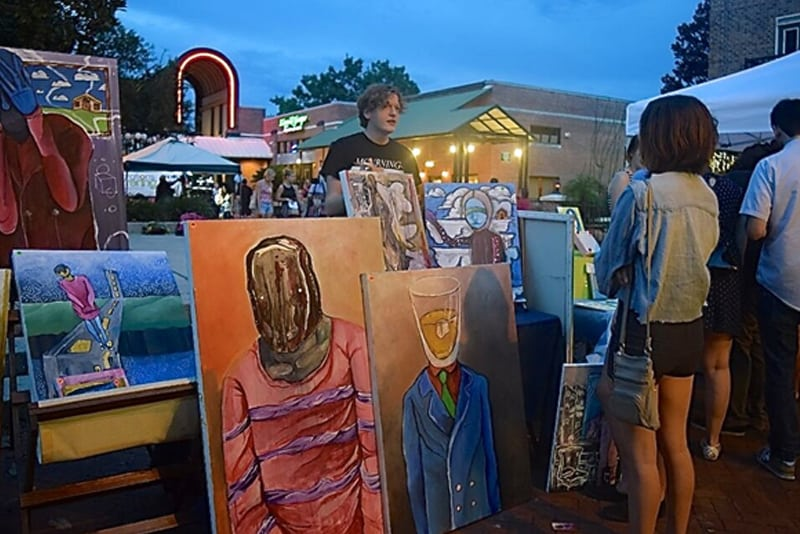 Explore Gainesville's art scene each month – for free!