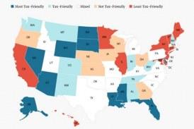 Florida ranks #4 on Kiplinger's list of Most Tax-Friendly States