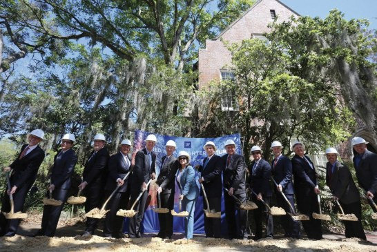 UF breaks ground on $30M renovation of historic Norman Hall