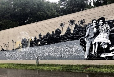 Grove Street Continues Trend of Murals in Downtown Gainesville