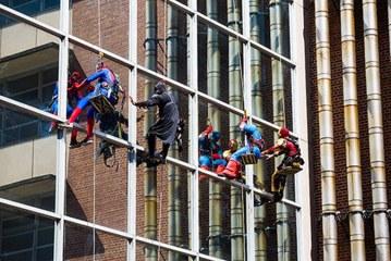 Superheroes descend on UF Health Shands Children's Hospital