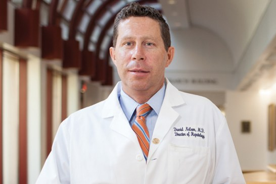 Dr. David R. Nelson named to top leadership position at University of Florida Health