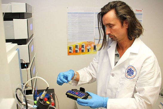 UF scientists eye novel drug candidate with marine origins to treat vision loss