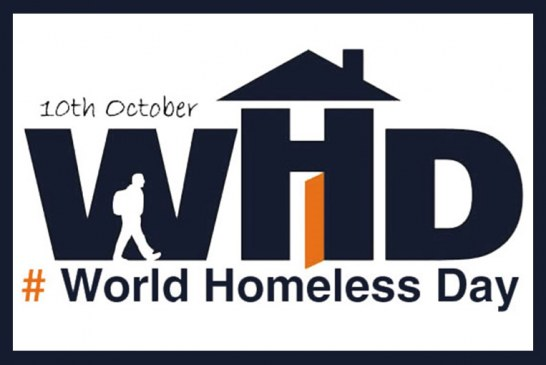 Today is World Homeless Day