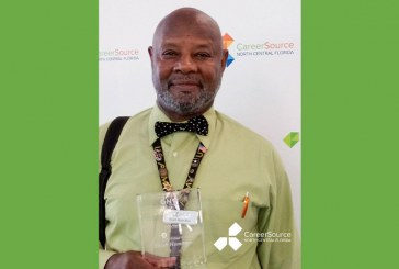 Career Source NCFL Honors Veteran with Local Impact Award