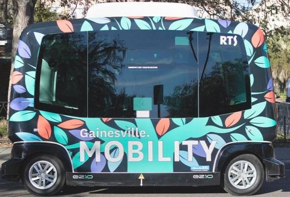 City of Gainesville Bridges Community with New Autonomous Transit Shuttle
