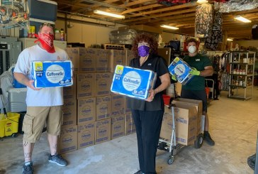 United Way of North Central Florida Receives Donation from United Way of Marion County, Kimberly-Clark, Cottonelle and United Way Worldwide