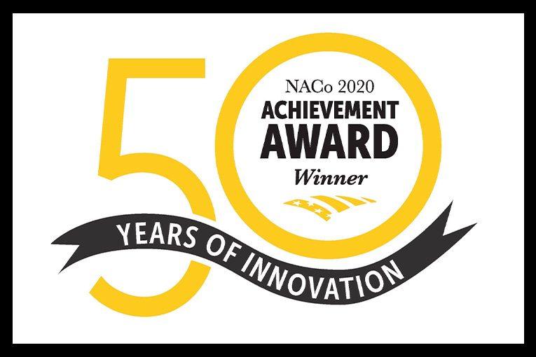 NACo 2020 Achievement Award winner logo