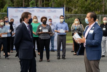 Cox Business donates PPE to UF Health