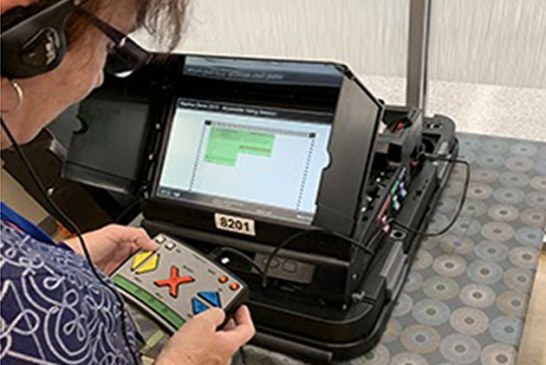 Special Equipment Available to Help Low-Vision Voters Cast Ballots in Alachua County