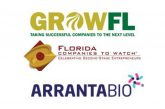 Arranta Bio Named Honoree in GrowFL Companies to Watch