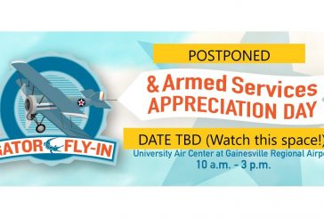 Gator Fly-In and Armed Services Appreciation Day Postponed