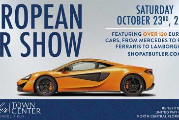 Butler to Host European Car Show in October
