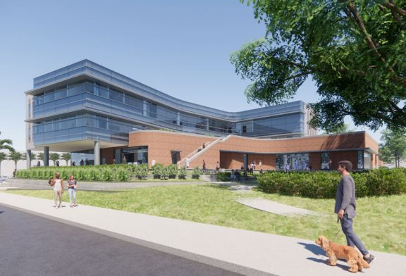 UF begins construction on state-of-the-art Student Health Care Center building